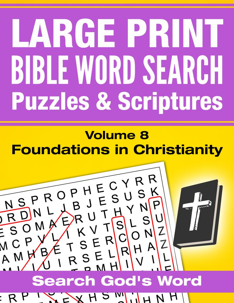 Bible Word Search Puzzles With Scriptures 562 Free Printable